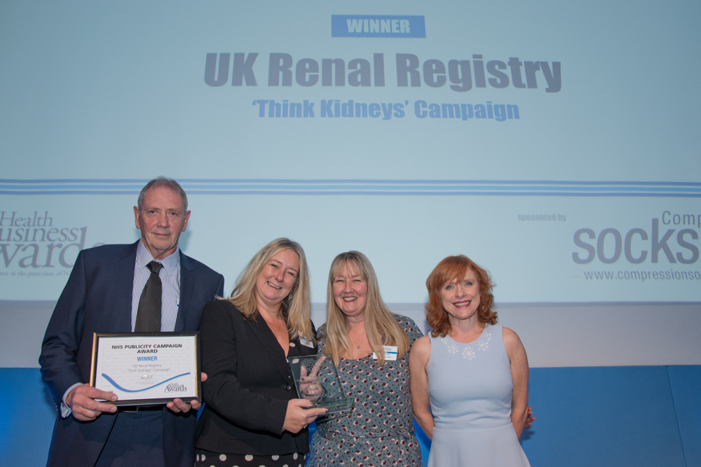 NHS Publicity Campaign Award 2016 - UK Renal Registry