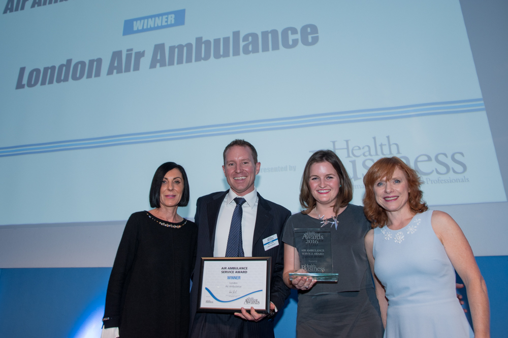 Air Ambulance Service of the Year 2016 - London Air Ambulance