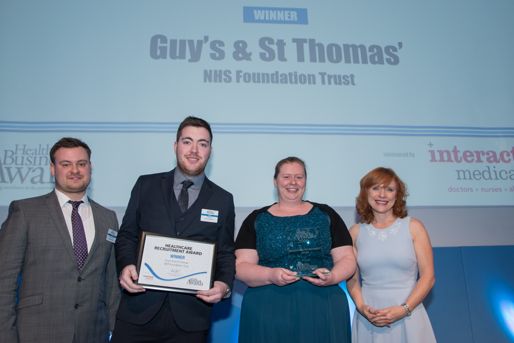 Healthcare Recruitment Award 2016 Winner: Guy's & St. Thomas' NHS Foundation Trust