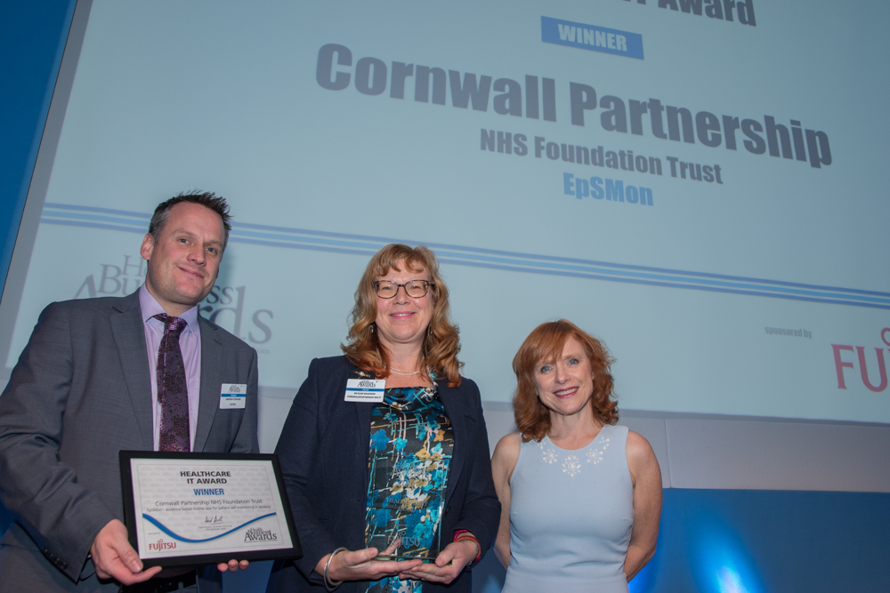 Healthcare IT Award 2016 Winner: Cornwall Partnership NHS Foundation Trust