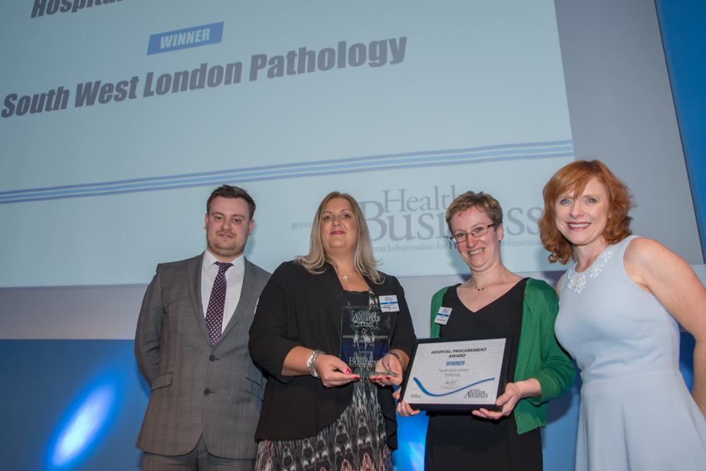 Hospital Procurement 2016 Winner: South West London Pathology