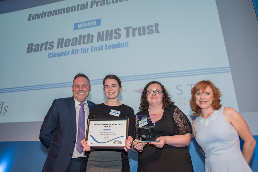 Environmental Practice Award Winner: Barts Health