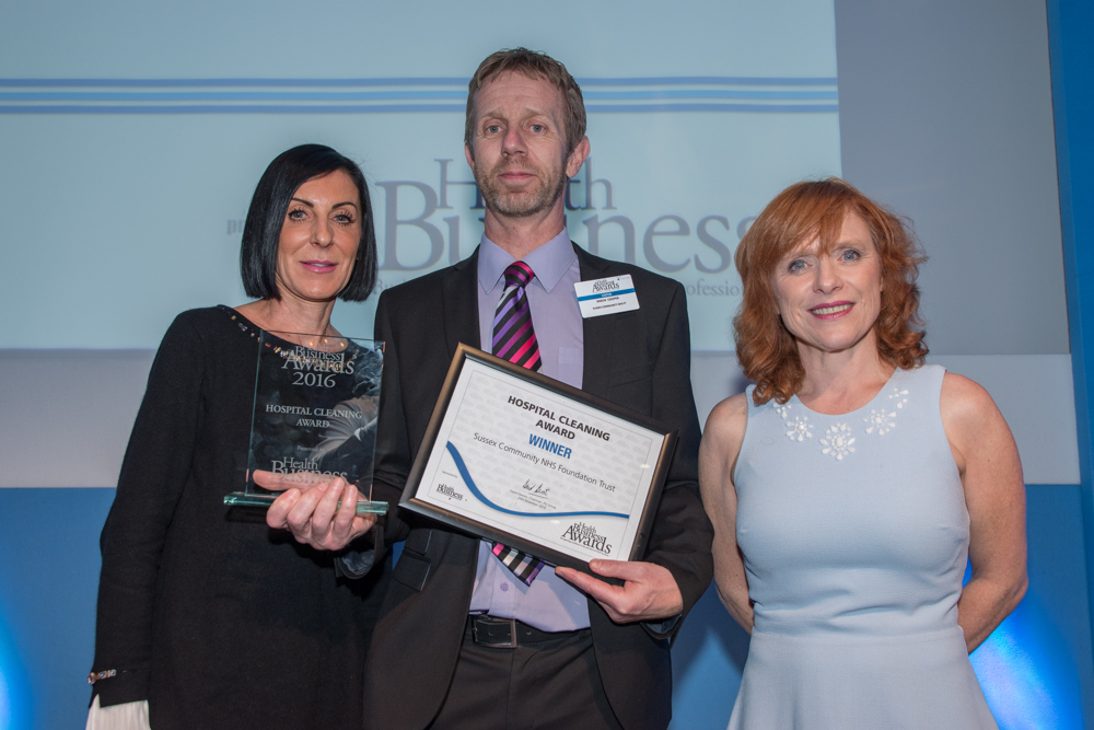 Hospital Cleaning 2016 Winner: Sussex Community NHS Foundation Trust