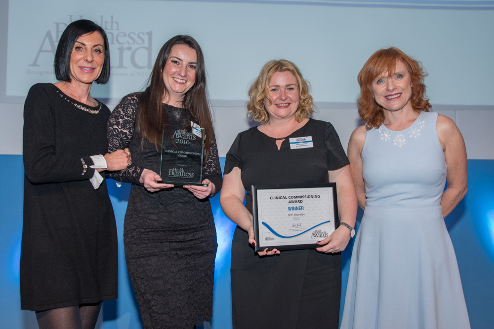 Clinical Commission Group Award Winners - Barnsley CCG