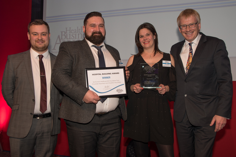 Hospital Building Award 2017 Winner: Northumbria Healthcare NHS Foundation Trust - Dinwoodie Hub (DASH)