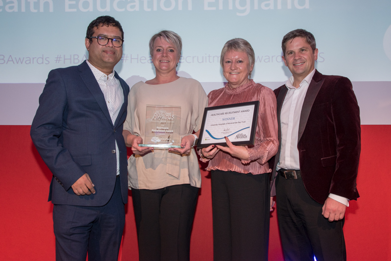 Healthcare Recruitment Award 2019 Winner: University Hospitals of Morecambe Bay NHS Trust