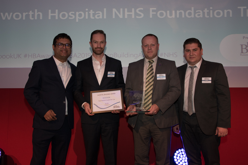 Hospital Building Award 2019 Winner: Papworth Hospital NHS Foundation Trust