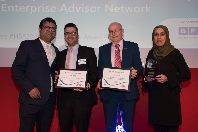 2019 NHS Collaboration Award Winner: Lancashire Teaching Hospitals NHS Foundation Trust / Lancashire Enterprise Advisor Network