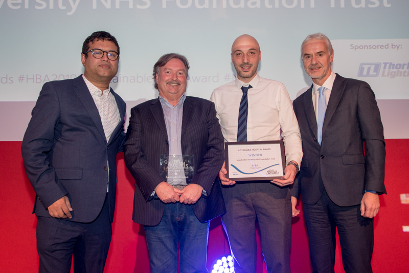 2019 Sustainable Hospital Award Winner: Manchester University Hospitals NHS Trust