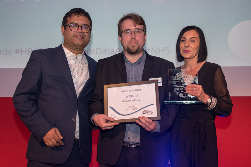 Patient Data Award 2019 Winner: NHS Arden & GEM CSU - Population Health Management System