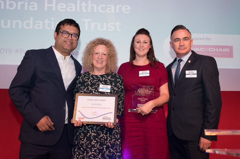 Patient Safety Award 2019 Winner: Northumbria Healthcare NHS Foundation Trust