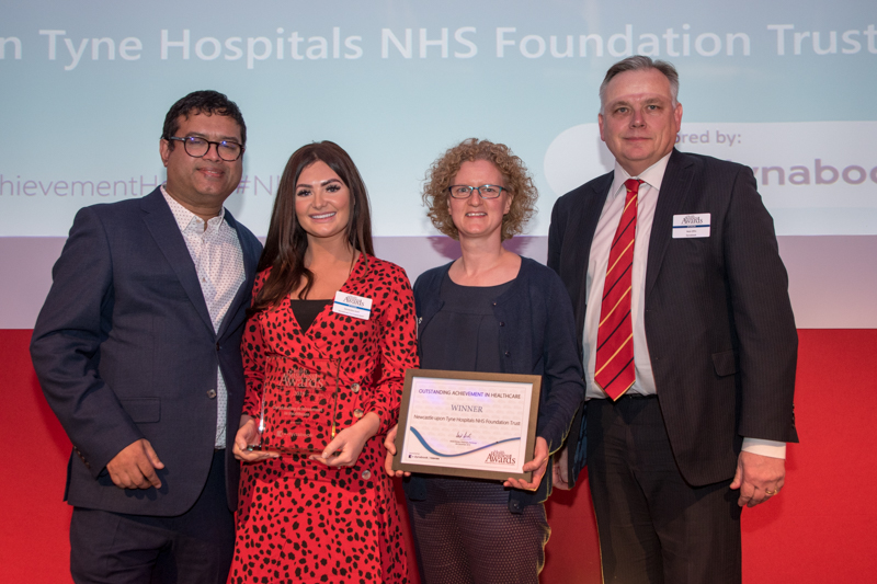 2019 Outstanding Achievement Award winner: Newcastle upon Tyne Hospitals NHS Foundation Trust
