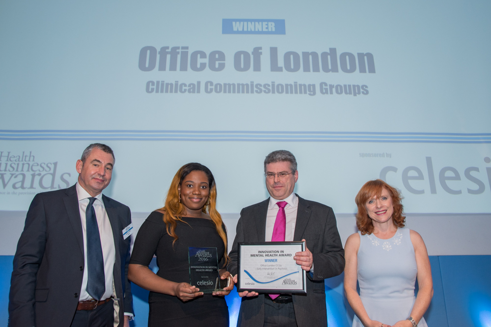 Innovation in Mental Health 2016 Winner: Office of London CCGs