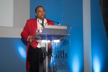 MC Rueben Lynch - Health Business Awards